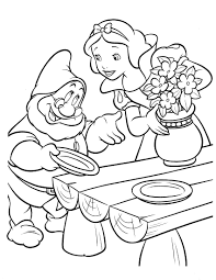 coloring pages seven dwarfs coloring pages mycoloring free