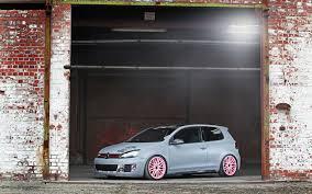 volkswagen pink 2012 cfc volkswagen golf gti leitgolf pink wheels 4