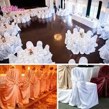 Chair Cover For Wedding 10pcs Dining Chair Covers For Wedding Party Folding Chair Covers