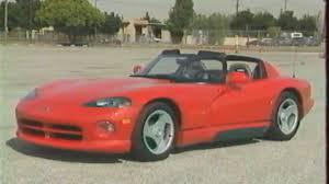 Dodge Viper 1994 - dodge viper rt 10 test essai reportage fr 1992 youtube