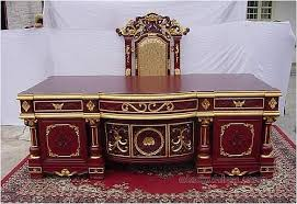 Luxury Office Desk 8th Louis Luxury Office Desk And Chair Wholesale China