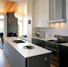 kitchen island with stove tall kitchen island light brown wooden cabinet simple gray glossy