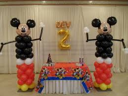 Mickey Mouse Table by Mickey Mouse Party 2 Party Decorations By Teresa
