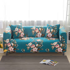 plaid turquoise pour canapé housse de canapé élastique pour salon fauteuil meubles canapé