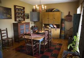 Simply Primitive Home Decor Antique Collector Embraces Early American Primitive Style In