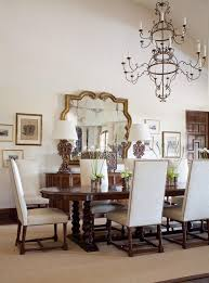 good looking uttermost mirrors in dining room mediterranean with