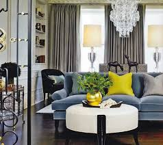 blue sofa living room slate blue sofa with grey and yellow color inspiration