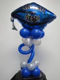 blue centerpieces 35 fascinating graduation centerpieces ideas