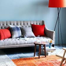 living room compact grey orange living room gray orange blue