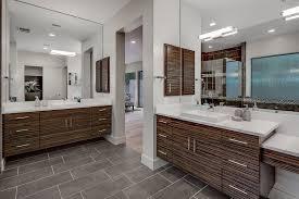 Contemporary Bathroom Wall Sconces Contemporary Master Bathroom With Wall Sconce U0026 Limestone In