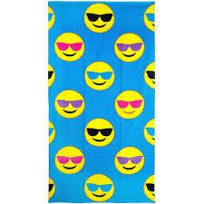 Furniture Emoji Emoji Beach Towel Heart Eyes Walmart Com