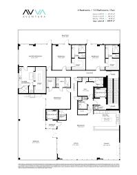 Parc Imperial Floor Plan by Avva Residences Aventura New Condos For Sale Bogatov Realty