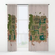 World Curtains Videogames Window Curtains Society6
