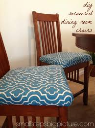 How To Cover A Dining Room Chair How To Recover Dining Room Pleasing How To Recover Dining Room