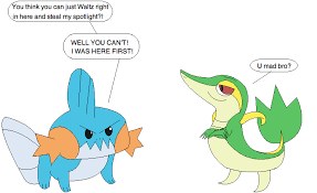 mudkip vs smugleaf by loneclone on deviantart