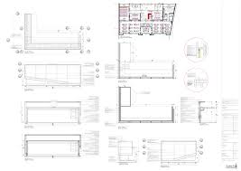 Reception Desk Plan Reception Desk Section Search Office Design Pinterest