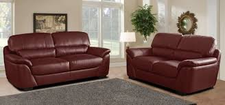 Red Leather 2 Seater Sofa Torino 3 And 2 Seater Red Leather Sofas Furniture Lifestyle