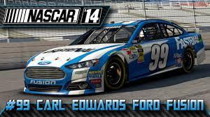 Ford Racing Flag Ford Fusion 99 Carl Edwards Texas Onboard Nascar U002714 Youtube