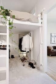 small children u0027s bedroom idea loft bed creates more space