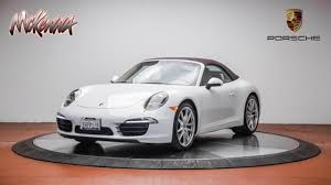 porsche 911 certified pre owned certified pre owned 2015 porsche 911 2dr cabriolet