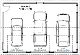 size of a 3 car garage 3 car garage dimensions venidami us 10 x 7 door with windows 8 16