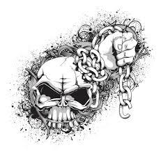 skull and crossbones tshirt pattern vector free vector 4vector