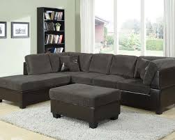 sofa astounding best mesmerizing gray microfiber sectional sofa