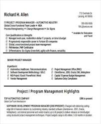 Oracle Project Manager Resume Free by It Manager Resume Sample It Manager Resume It Program Manager 42