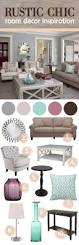 chic home decor ideas winsome living room schemes rustic chic home decor living