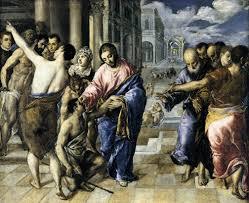 Blind Man At Bethsaida Biblical Reflections For Students Mark 8 22 26 Jesus Heals The