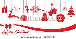 christmas icon vector set download free vector art stock