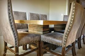 rustic dining table crate and barrel video and photos