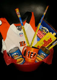 cincinnati gift baskets who dey cincinnati bengals jersey basket