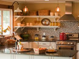 beautiful mosaic tile kitchen backsplash built in oven radiant