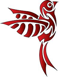 tribal bird by b southern on deviantart