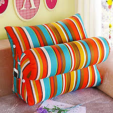support pillow for reading in bed vercart sofa bed large filled triangular wedge cushion bed backrest