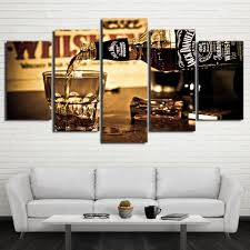 Wohnzimmer Vintage Atfipan Unframed Wand Deko Leinwand Malerei Gedruckt Jack Daniels