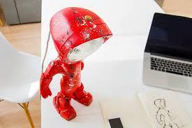 this new robot lamp has a bit of an attitude contemporist