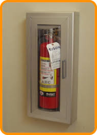 semi recessed fire extinguisher cabinet fire extinguisher cabinets and hoses fire safety products bison