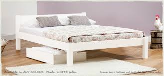 wonderful basic bed handbuilt basic good value wooden bed kscott