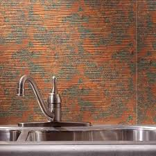 kitchen backsplashes copper backsplash tiles for kitchen country