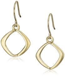 earrings new york kenneth cole new york gold tone drop earrings kenneth