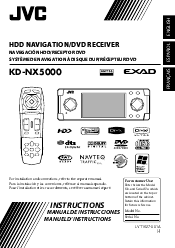 jvc kd nx5000 navigation system with hdd manual