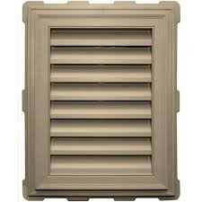 gable u0026 louvered vents roofing u0026 attic ventilation the home depot