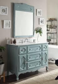 light blue bathroom light blue knoxville bathroom sink vanity w mirror gd 1522bu 48mir