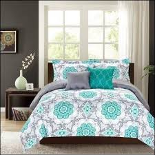 bedroom awesome cream grey blue queen size cotton bedding sets