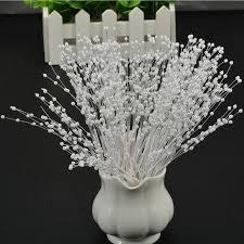 12pcs artificial pearl chain bouquet wedding