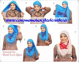 tutorial hijab turban ala april jasmine tutorial jilbab shawl cotton 3 layer ala april jasmine cara