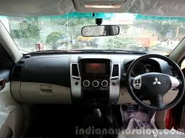 mitsubishi outlander sport 2015 interior 2014 mitsubishi pajero sport facelift interior india indian