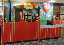 children u0027s room circulation desk at the eastchester library in